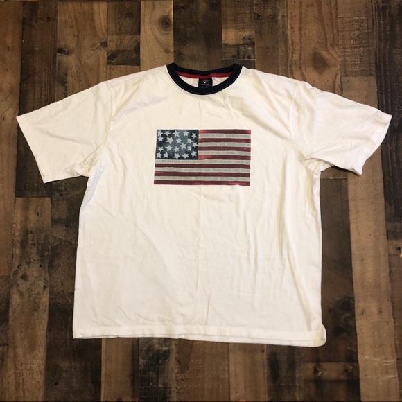 e2ec25b6 Tommy Hilfiger Shirts | American Flag Logo Th Tshirt | Poshmark